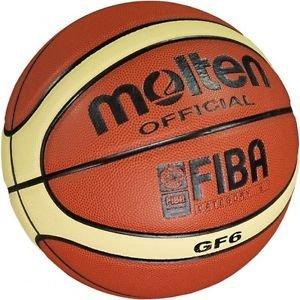 現貨到!【H.Y SPORT】Molten GF6 超軟PU12片貼籃球/UBA大專聯賽指定用球/室內外6號(現貨中)