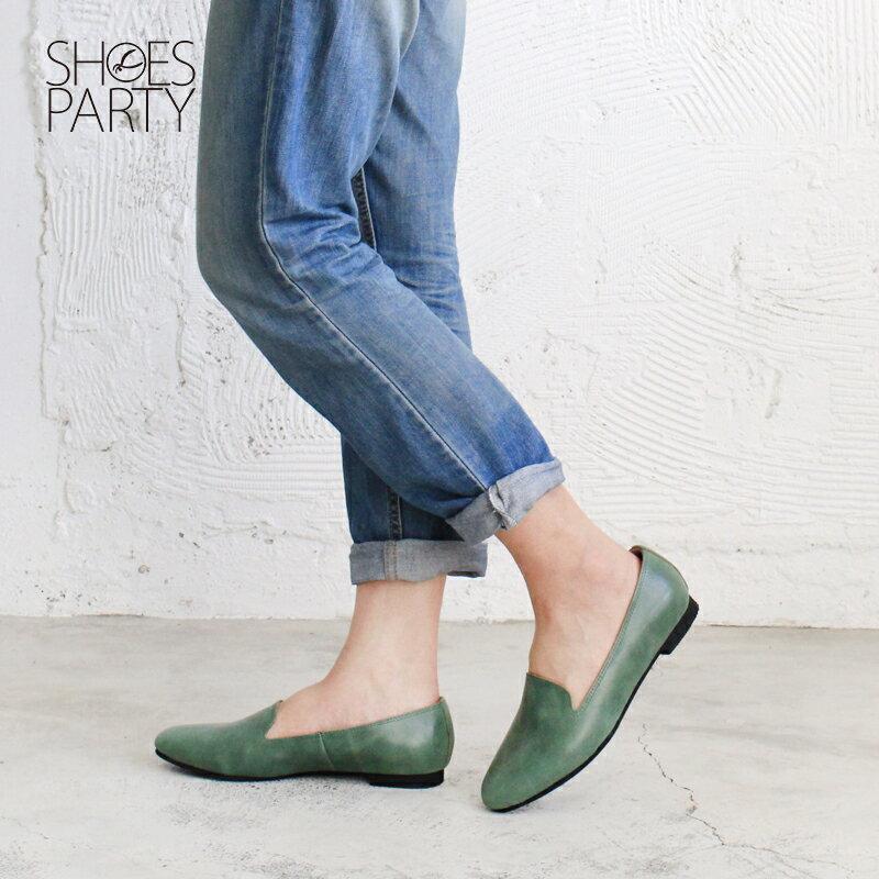 【 C2-17816L 】拋光牛皮歐貝拉_Shoes Party 2
