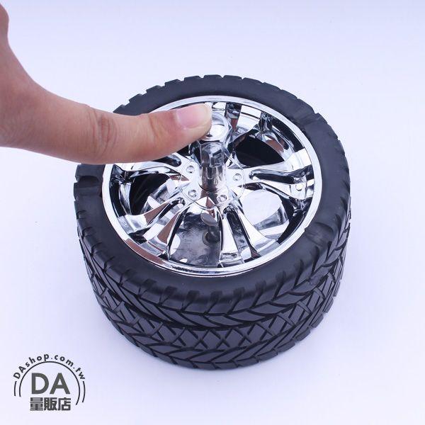 《DA量販店》創意 輪胎 造型 菸灰缸 煙灰缸 煙具 居家 辦公室 擺設(78-2890)