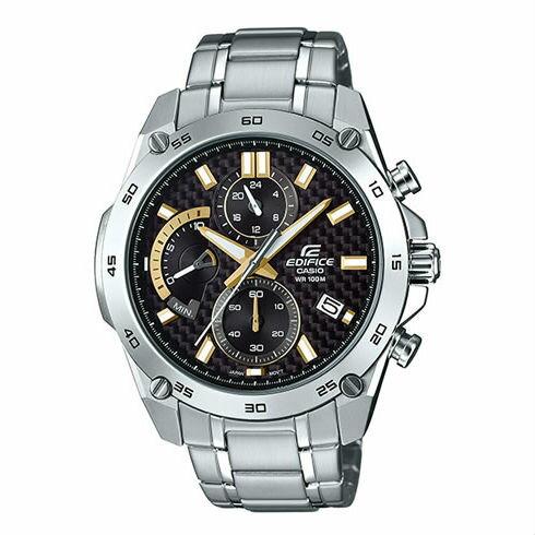 CASIOEDIFICEEFR-557CD-1A9三針三眼錶賽車概念時尚競速三眼腕錶47mm