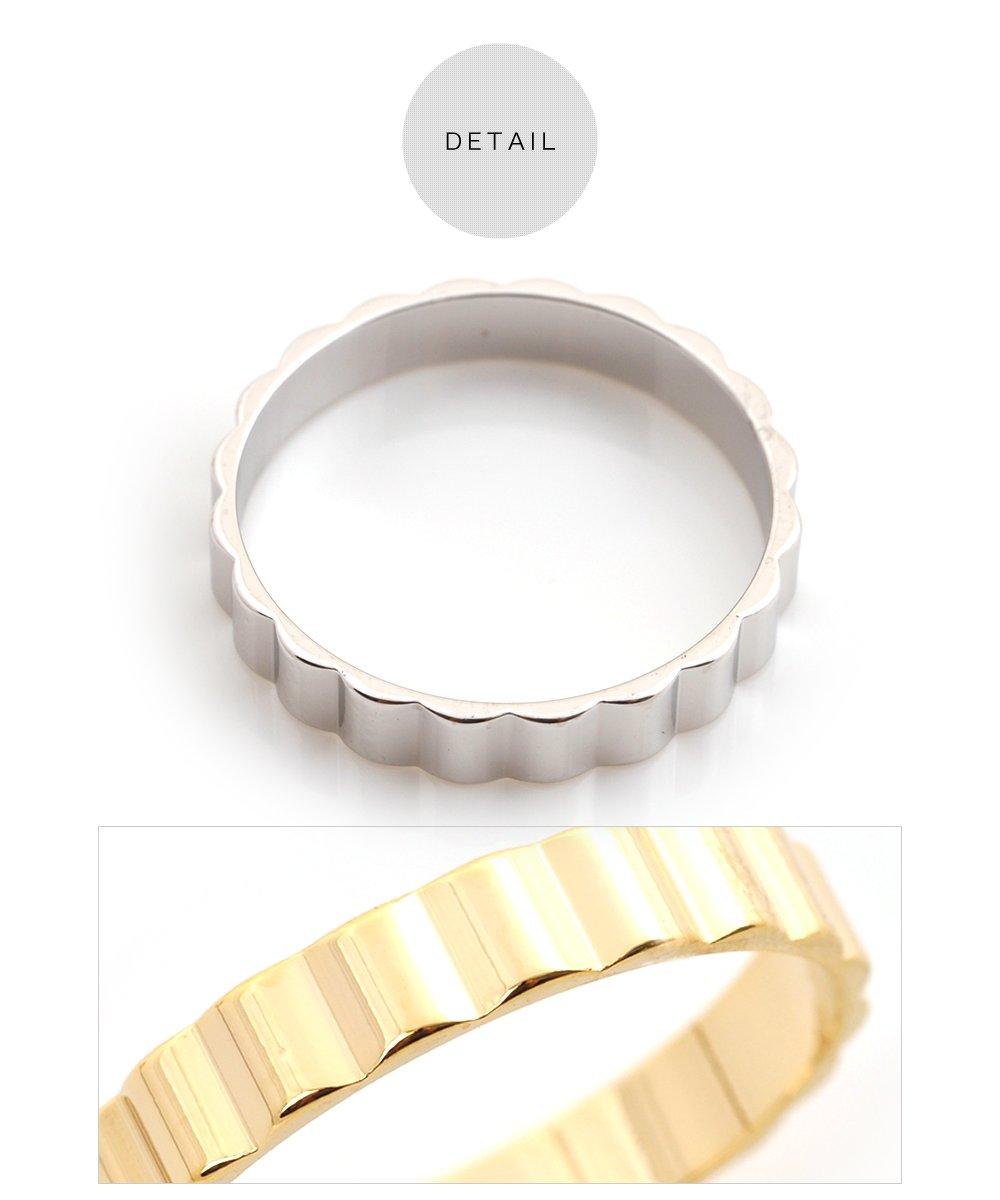 日本CREAM DOT  /  リング 指輪 レディース 重ねづけ 重ね付け 13号 ファッションリング フラワー 花 大人 上品 エレガント 華奢 シンプル フェミニン ゴールド シルバー  /  qc0424  /  日本必買 日本樂天直送(690) 4