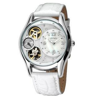 天然彩貝錶盤機械款 女錶十天