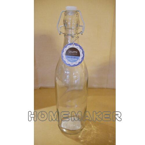 透明玻璃水瓶 900ml_G-12S017