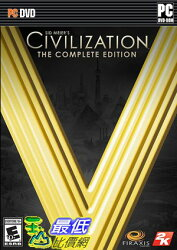 [7美國直購] 2018 amazon 亞馬遜暢銷軟體 Sid Meier's Civilization V: The Complete Edition - PC