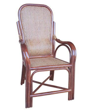 【MSL】精緻單護腰老人藤椅 0