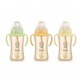 Simba小獅王辛巴 - PPSU自動把手寬口雙凹中奶瓶 270ml (一支) 0