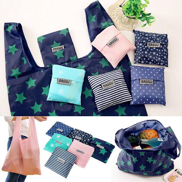 Life365:環保袋購物袋可折疊愛地球環保大容量易收納可背可提方便攜帶【RB489】
