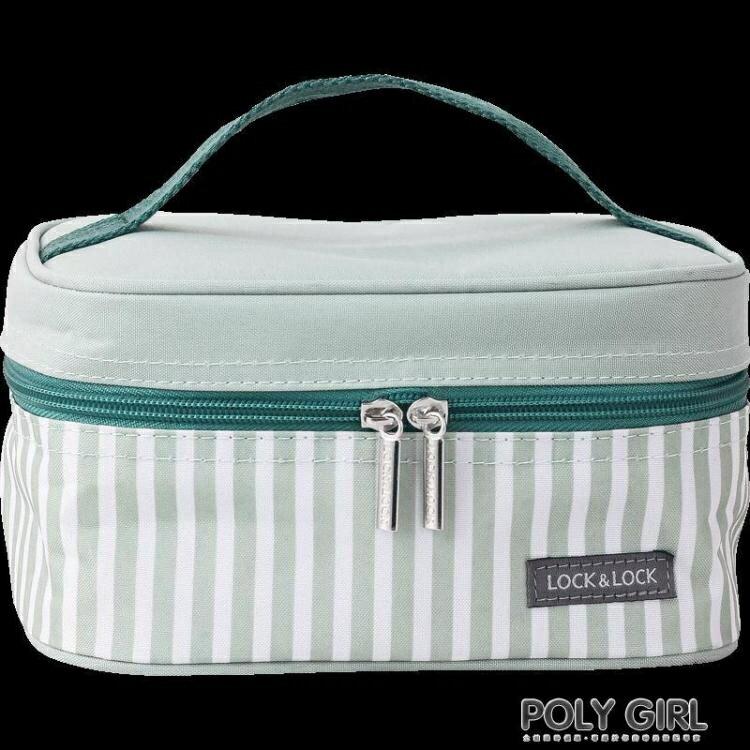 樂扣樂扣保溫便當包拎飯盒袋子帶飯午餐鋁箔帆布學生上班手提加厚