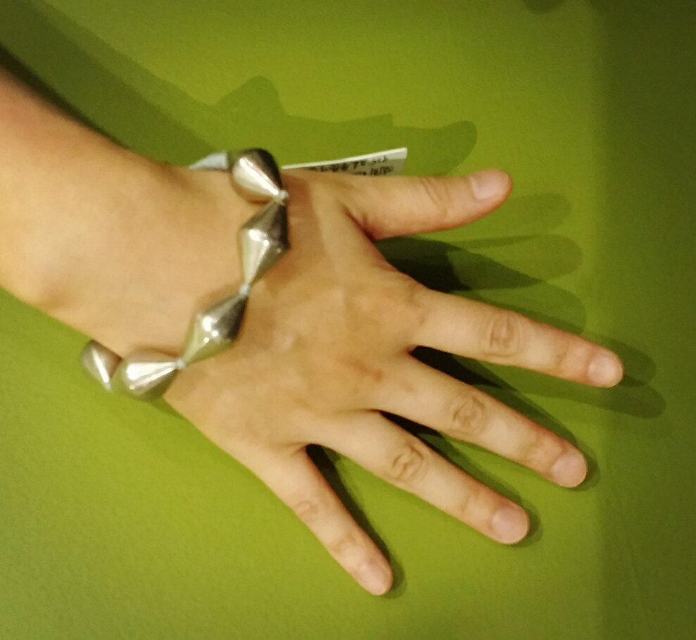 『法國原裝』獨家代理 - 100% 純手工純銀手鏈 / 大粒 / 限量 1