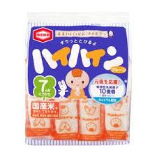龜田製果 嬰兒米果7個月以上食用 53g 出清中