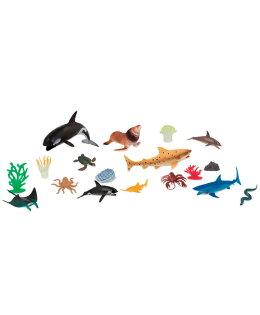 【淘氣寶寶】【美國B.Toys感統玩具】TERRA海洋世界(情境桶)