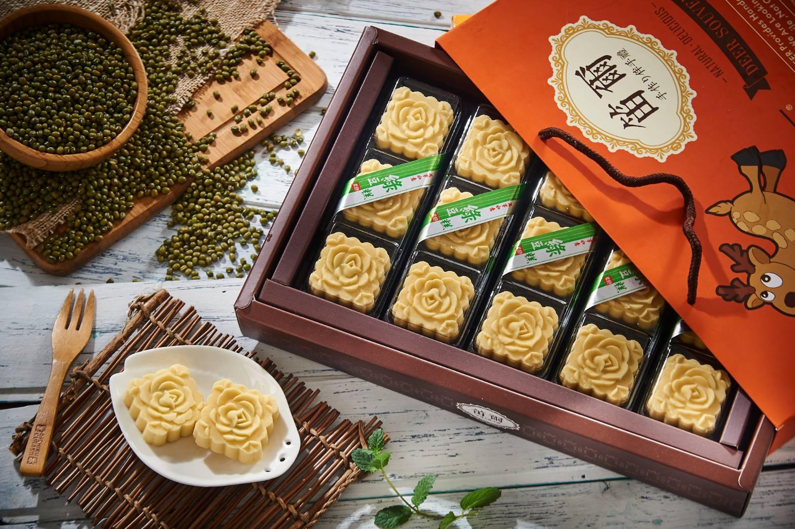 【笛爾手作現烤蛋糕】綠豆糕禮盒/15入/盒