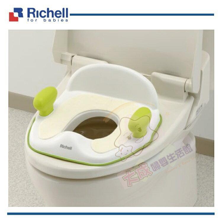 【大成婦嬰】Richell 幼兒 pottis 輔助便器 (46750-3) 學習便器 便器 便座 便坐 1