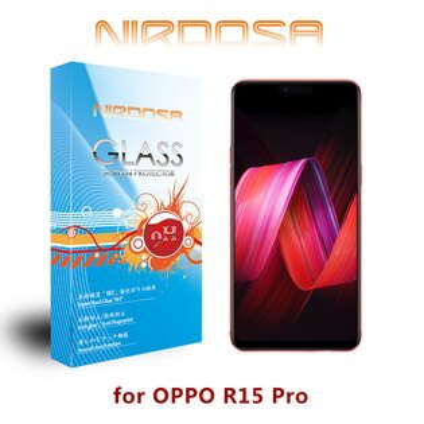 【愛瘋潮】99免運NIRDOSAOPPOR15Pro9H0.26mm鋼化玻璃螢幕保護貼