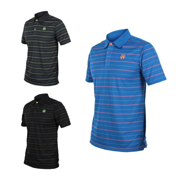 FIRESTAR男短袖高爾夫POLO衫(高爾夫球慢跑路跑【03320772】≡排汗專家≡