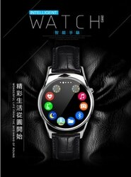 ⭐️無賴小舖⭐️長江S3全屏觸控藍芽智能通話手錶、磁吸充電、心率檢測、FB、line提醒、聽音樂、計步器、藍牙拍照