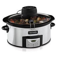 Crock-Pot 6-Quart Digital Slow Cooker with iStir™ Stirring System SCCPVC600AS-P