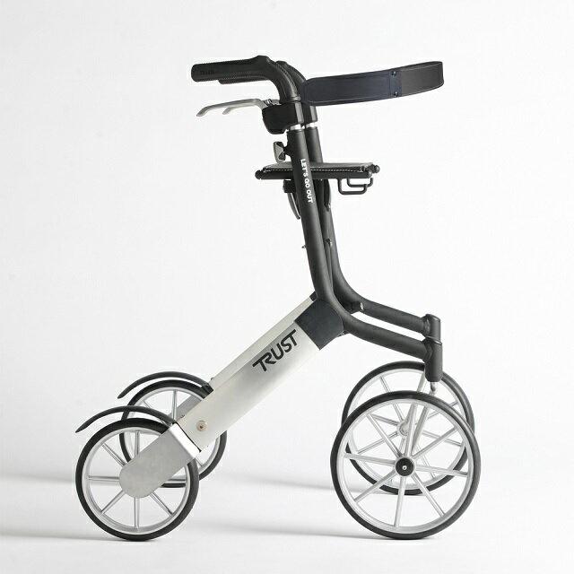 【樂活動】Trust care輕便型戶外型散步助行器★本產品內含專用安全背帶1件、專用購物袋1件★ - 限時優惠好康折扣