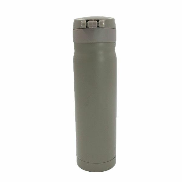 【滿額領券折$150】KANGOL 英國袋鼠 保溫瓶 保溫杯 真空彈式 不銹鋼 奶茶色【6125186202】