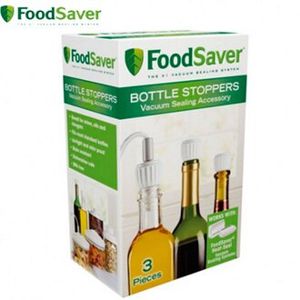 FOODSAVER 真空瓶塞3入組 一般尺寸瓶口皆適用 真空包裝機