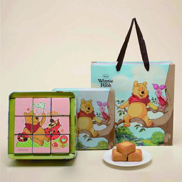 【奇美伴手禮盒】小熊維尼鳳梨酥禮盒 (經典款) 1