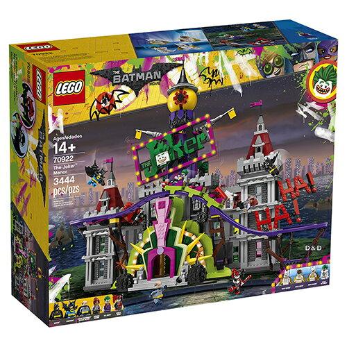 樂高積木LEGO《LT70922》BatmanMovie樂高蝙蝠俠電影系列-TheJokerManor