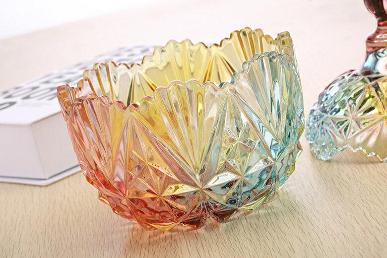 皇冠水晶玻璃罐(小-10.5X13cm) [大買家] 5