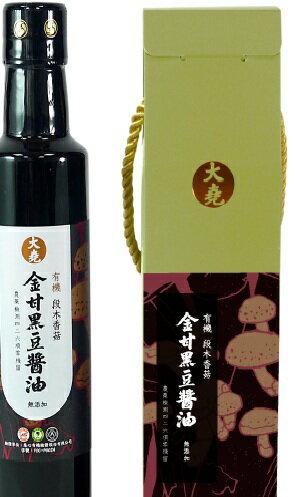 喜樂大堯金甘有機段木香菇黑豆醬265ml