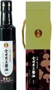 美纖小舖:喜樂大堯金甘有機段木香菇黑豆醬265ml