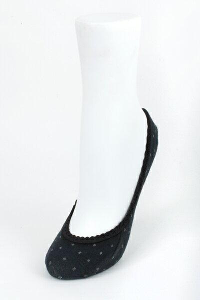 【金‧安德森】女版點點蕾絲花邊隱形襪