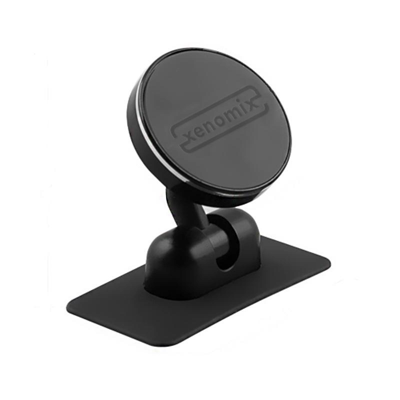 Xenomix 西諾米斯 隨處磁吸手機平板架 - 尊爵萬用版(加贈3M背膠1片) 黑 支援多尺寸主機 可吸附218g重