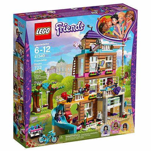 東喬精品百貨商城:樂高積木LEGO《LT41340》2018年Friends姊妹淘系列-友誼之家