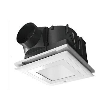 【Ambi-Hi安比好】SUNON 建準 LED照明換氣扇 浴室通風機 BVT21A012  側吸帶燈型(方型燈-黃光) - 限時優惠好康折扣