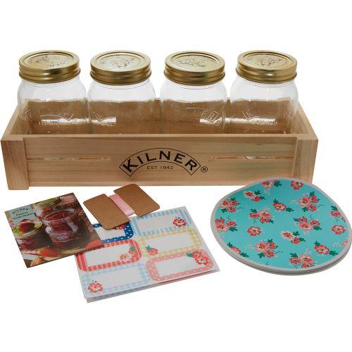 《 Kilner 》密封罐禮物組-500ml/一組4入