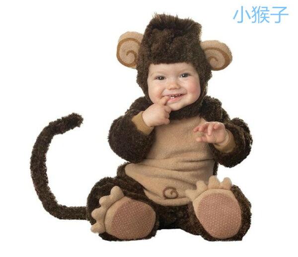 美麗大街【MB07】萌寶寶~動物造型連體衣萬聖節派對變裝