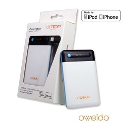 【ONTOP】TPS-2500名片型行動電源 2500mAh (獨享裝)- for Apple iPhone  5 / 5S / 6 / 6+ 專用