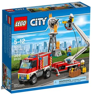 樂高積木LEGO《 LT60111 》2016 年 CITY 城市系列 - 重型消防車