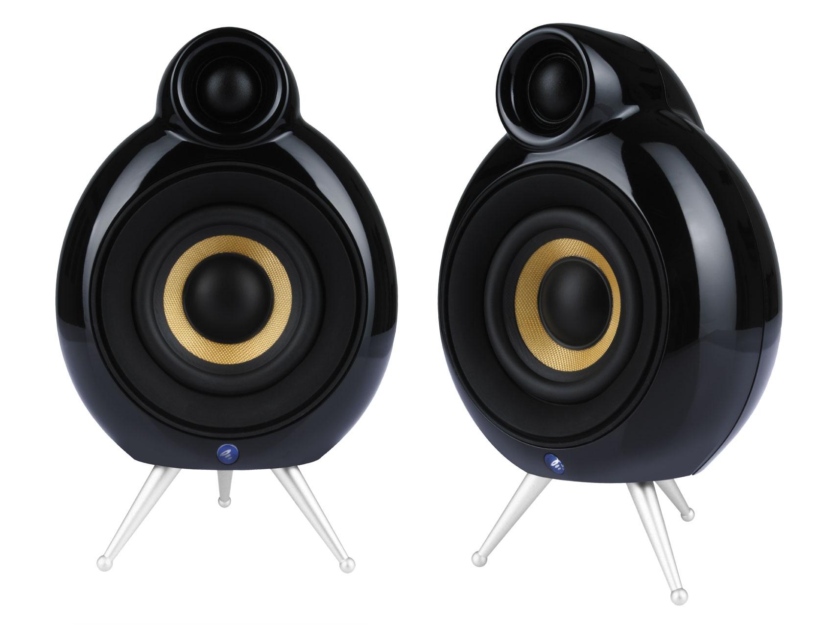 Listenup Podspeakers Micropod Se Black Compact Speaker Single Audioengine Hd6 Cherry 1