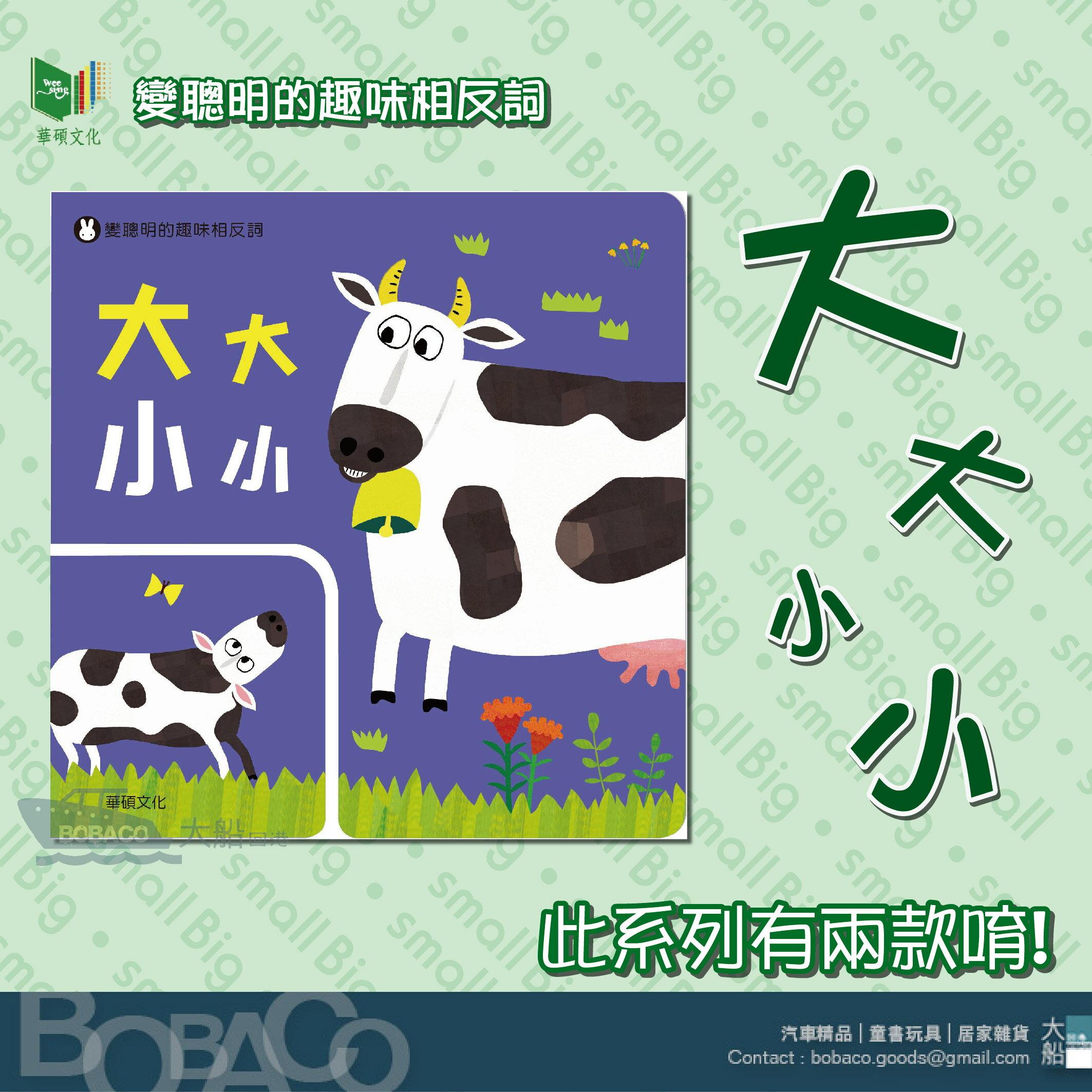 大大小小 华硕文化 / 游戏书 益智教材 培养表达能力 语言学习 儿童书籍 亲子 童书 幼儿 绘本