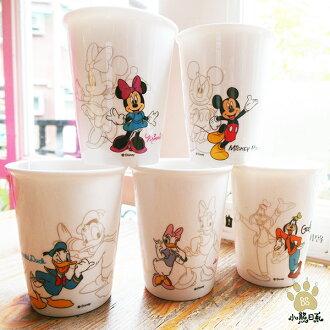 小熊日系* 迪士尼水杯 DISNEY 杯組210ml-5入組 冷水杯 喝茶 米奇 米尼 唐老鴨 高飛黛西