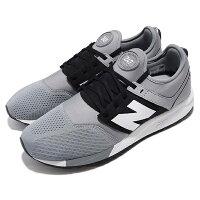 情侶鞋推薦到【NEW BALANCE】NB 247 休閒鞋 復古鞋 灰色 情侶鞋 男女鞋 男鞋 女鞋 -MRL247TCD就在動力城市推薦情侶鞋