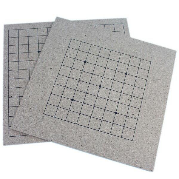 9路~13路圍棋板學園用圍棋板一件50片入{定50}小棋盤密集板正.反兩面~信