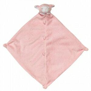 美國【Angel Dear】超級柔軟超級可愛動物嬰兒安撫巾 (粉紅小羊) - 限時優惠好康折扣