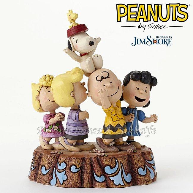 Jim Shore愛木小灣 PEANUTS Snoopy 史努比65週年 ★ 美國ENESCO精品 ★ 夢想家精品家飾