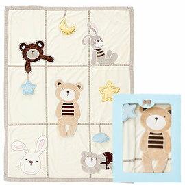 【淘氣寶寶】奇哥 立體遊戲童毯/被子【觸感柔順、保暖舒適、可做保暖蓋毯&遊戲地墊使用】