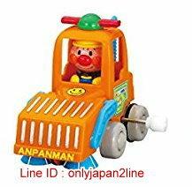 【真愛日本】16123000006發條車玩具3款-AP掃地機   電視卡通 麵包超人 細菌人 兒童玩具 正品