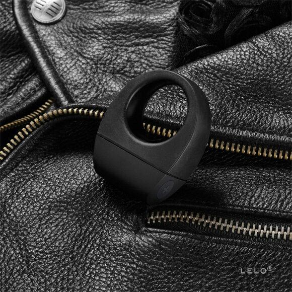 情趣線上◆瑞典 LELO◆時尚6段變頻男用震動環-TOR系列◆黑色<加贈超值好禮三重送>
