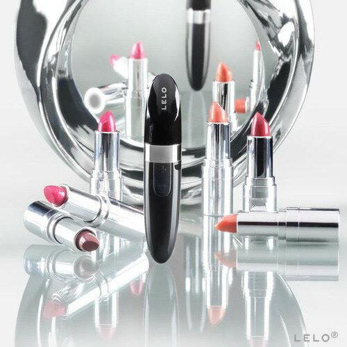 情趣線上◆瑞典 LELO◆口紅時尚款USB充電-MIA 2 米婭二代◆黑色<加贈超值好禮三重送>