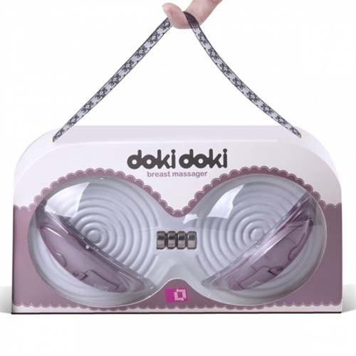 美國 Funzone◆Doki Doki月牙灣-胸部鍛鍊器-粉紅色◆經常按摩使胸部豐滿堅挺◆情趣線上