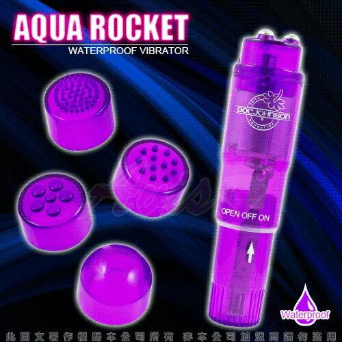 Sex Toys◆超能震動按摩器-紫色◆多功能防水小震動棒,4種按摩頭可更換◆情趣線上